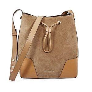MK drawstring purse